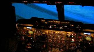 Flying the Concorde Simulator 1