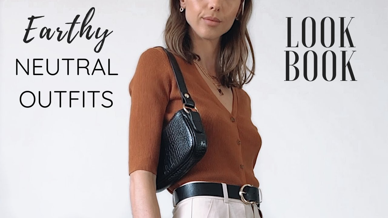 [VIDEO] - Earth Tone Outfits of The Week | NEUTRAL OUTFITS 2