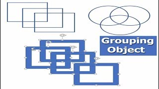 How to Grouping Shape or Object in Microsoft Word 2017