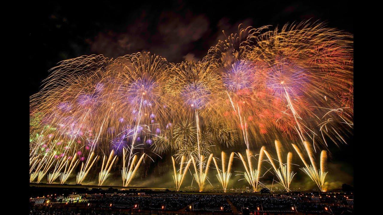 長岡花火 フェニックス 4k 8月2日 Nagaoka Fireworks festival japan - YouTube