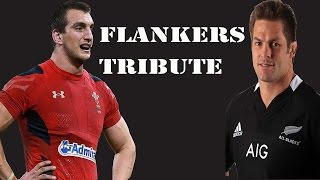 """Rugby Tribute : Flankers """" The everywhere men""""  Big Hits /runs compilation"""