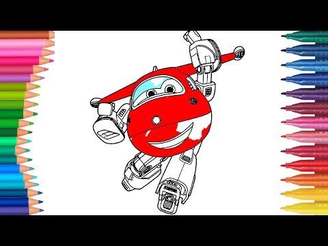 Harika Kanatlar Jett Cizgi Film Karakteri Boyama Sayfasi Harika