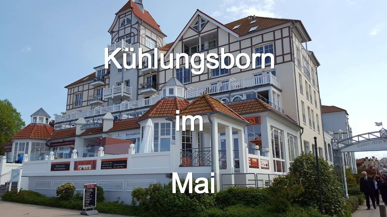 Ostsee Kühlungsborn Haus Meeresblick 2016