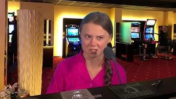 Gretta Thunberg beschwert sich  über die SPIELOTHEKEN!