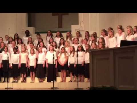 "Wake Christian Academy 4-5th Grade Chorus ""The Lord is My S"