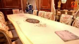 Итальянская мебель для столовой, гостиной  спальни в стиле барокко Киев купить, цена, интернет магаз(, 2014-05-22T13:56:51.000Z)