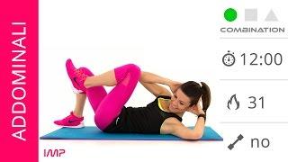 Esercizi Addominali: 12 Minuti Di Esercizi Per L'Addome