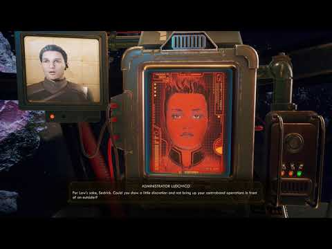 Murder on Eridanos Intro - The Outer Worlds |