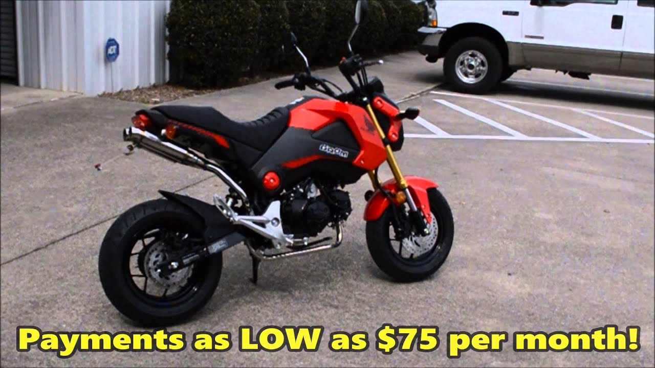 Custom Honda Grom 125 For Sale - Dual Exhaust + Seat ...