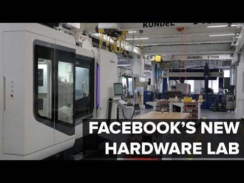 Inside Facebook's new hardware lab (CNET News)