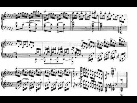 op.10 no.5 black keys free sheet music by Chopin | Pianoshelf