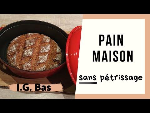🥖pain-maison-sans-pÉtrissage-(2-recettes-ig-bas)---cuisson-cocotte,-sans-machine-à-pain