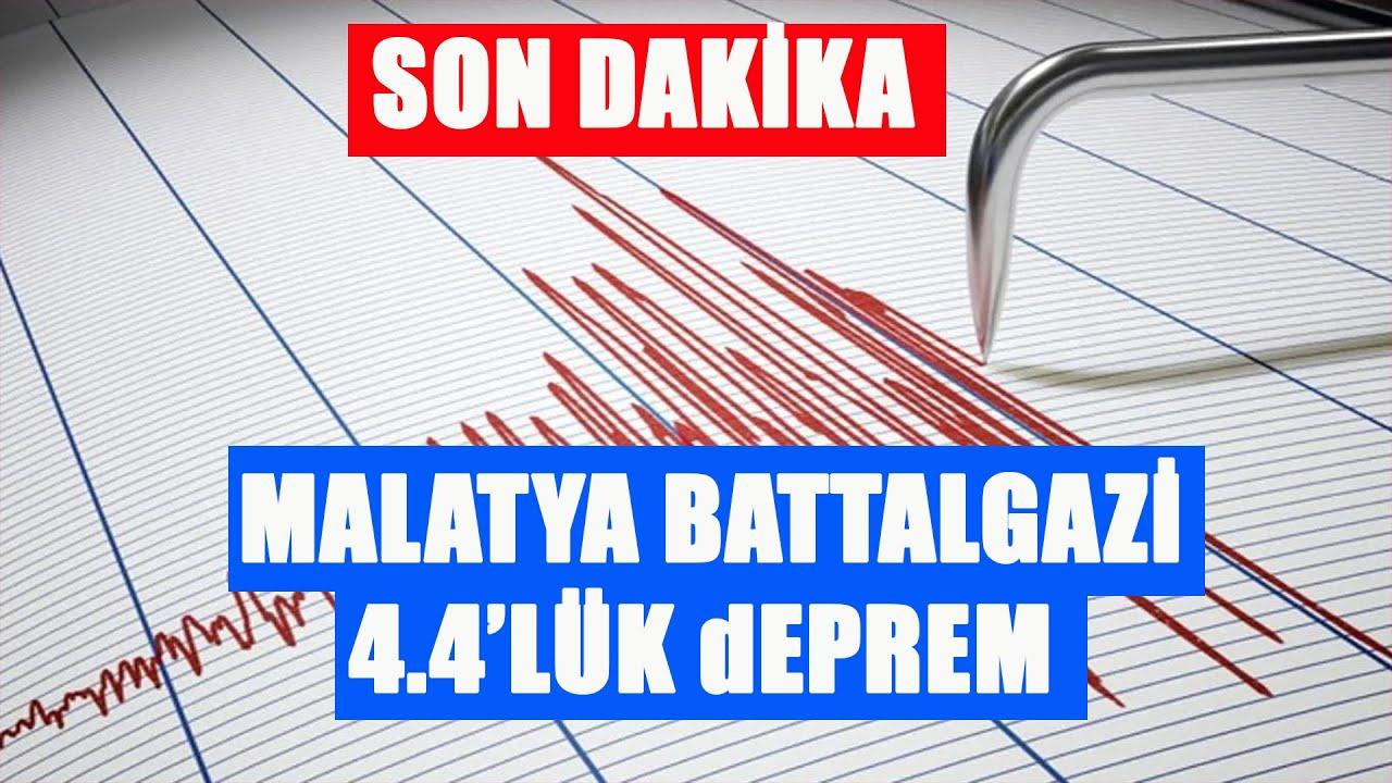 Son Dakika Malatya Battalgazi'de 4.4 Lük Deprem Meydana Geldi 9.07.2020  TURKEY - YouTube