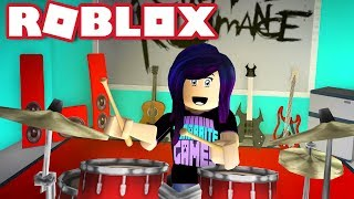 I MADE A BAND ROOM IN MY BLOXBURG HOUSE! | Roblox Roleplay