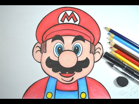 Como Desenhar Mario Bros Youtube