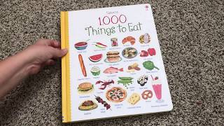 1000 Things To Eat 🍱 Usborne Books & More