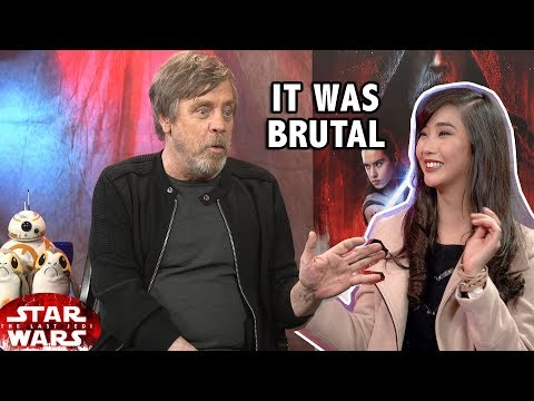 Download Youtube: STAR WARS Luke challenges in filming The Last Jedi (Mark Hamill Interview)