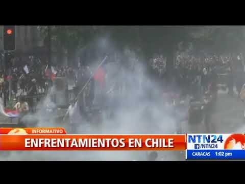 Protestas no cesan en Chile pese a medidas sociales anunciadas por el presidente Piñera