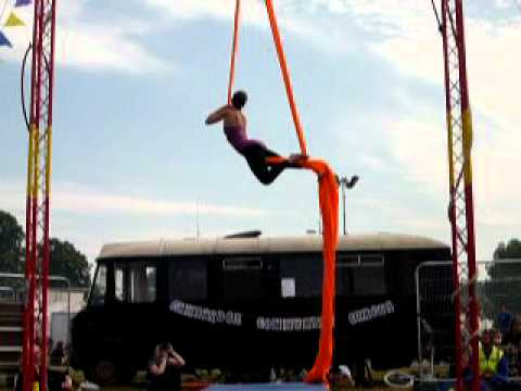 Laura Ortu Aerial Silks