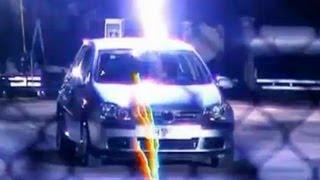 Richard Hammond struck by lightning in car - Top Gear - BBC