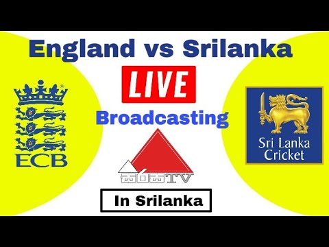 sirasa tv live broadcasting Srilanka vs English series 2018 in srilanka | sirasa tv live