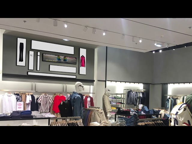 Stretch showcase shop concept