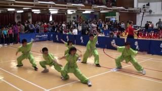 佛教林炳炎紀念學校五步拳A隊季軍~小學組 (第一屆香港華夏武