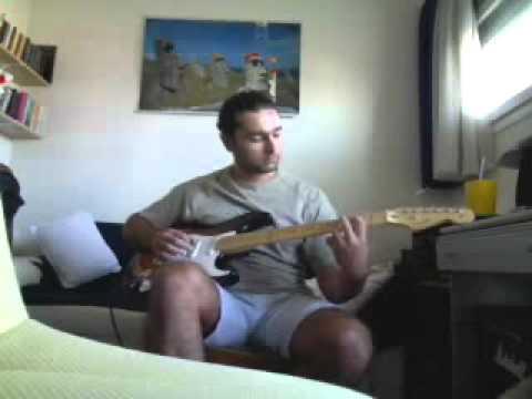 aerosmith - hangman jury guitar cover