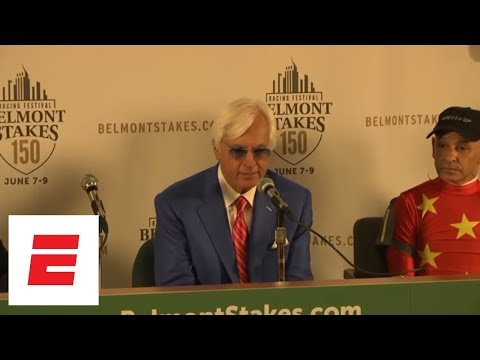 Justify's jockey Mike Smith, and trainer Bob Baffert go into detail on Triple Crown win | ESPN