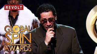 Kid Capri wins the Red Award   Global Spin Awards