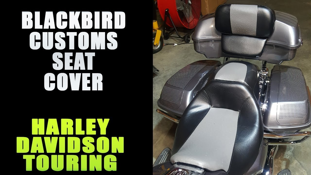 Change Your Boring Harley Davidson Seat With A New Cover From ...