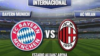 Video Gol Pertandingan FC Bayern Munchen vs AC Milan