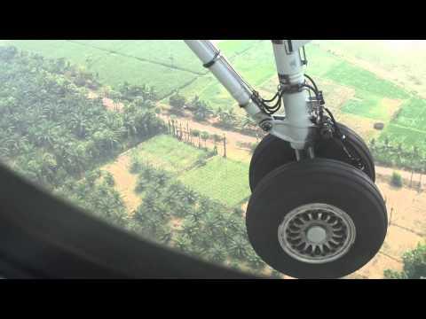Landing at Rajamundry