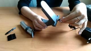 Обзор окантовочной машинки для стрижки волос Dingling RF-608