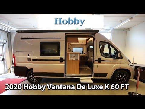 Hobby Vantana De Luxe K 60 FT 2020 Camper Van 6m