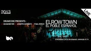 Adam Beyer / Joseph Capriati / Paul Ritch - 4h Live Drumcode @ Elrow Town (Barcelona) 16.06.2013