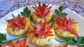Ну очень вкусная колбаска с яйцом и сыром!!! & Простые и красивые рецепты