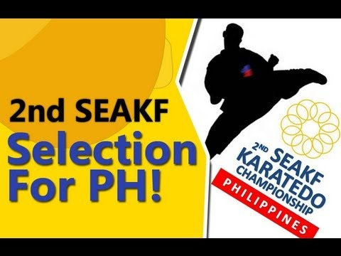 2nd SEAKF Championship Selection for the Philppines - Senpai Keith