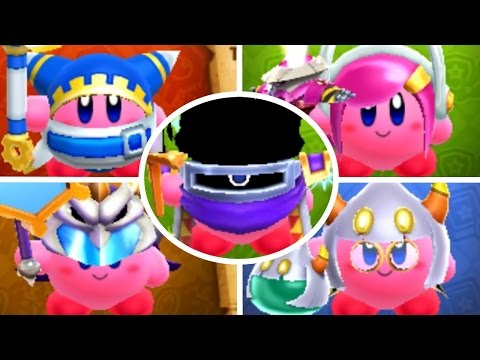 Team Kirby Clash Deluxe - All Gear Sets (Every Weapon & Armor)