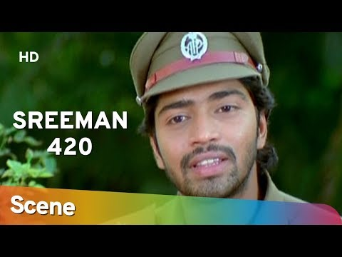 Sreeman 420 | Allari Naresh Police Station Scene | Superhit Bengali Movie | Sayali Bhagat