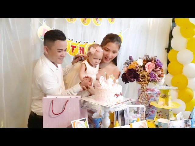 Quay phim sinh nhật cho bé tại Hà Nội