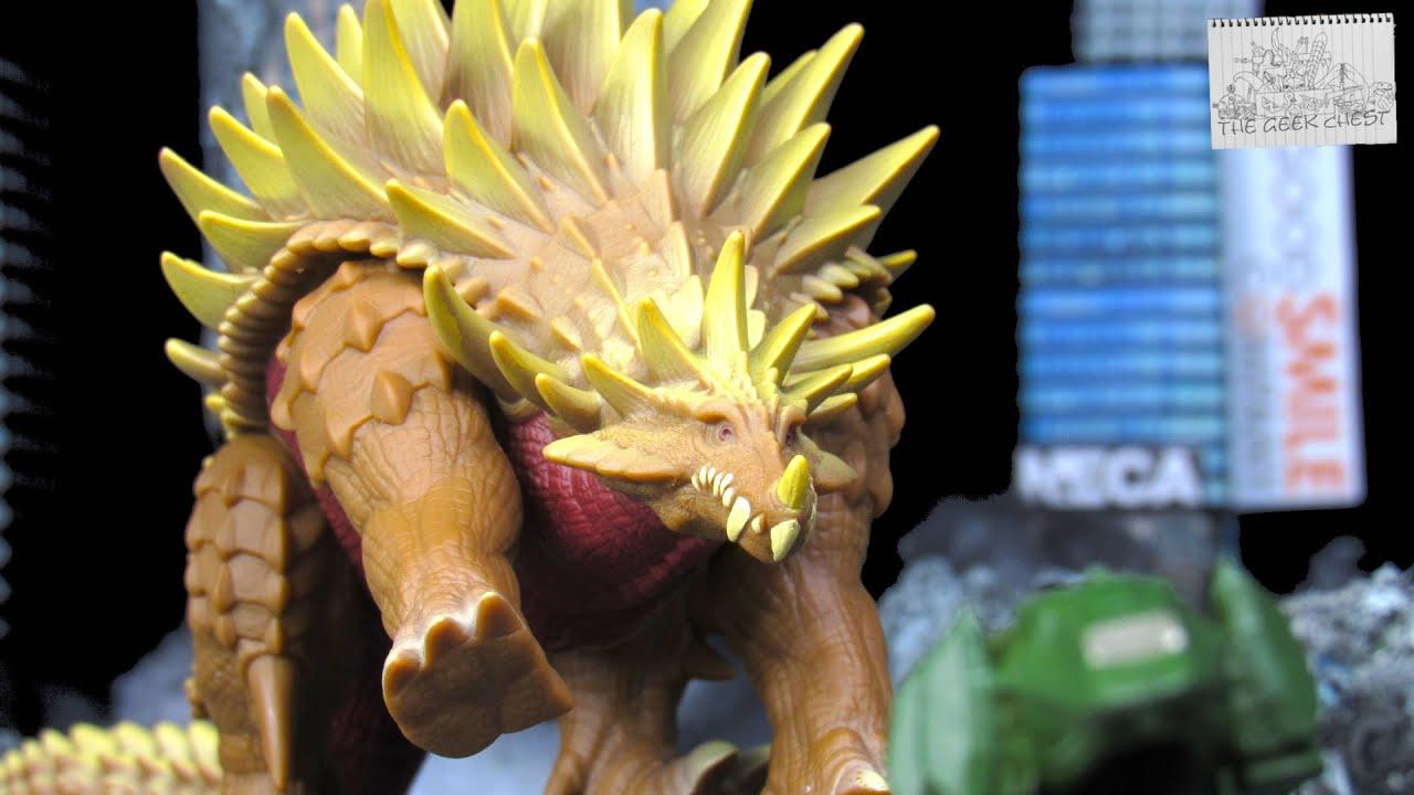 Godzilla Singular Point Movie Monster Series Anguirus - Netflix Kaiju Vinyl Figure Review