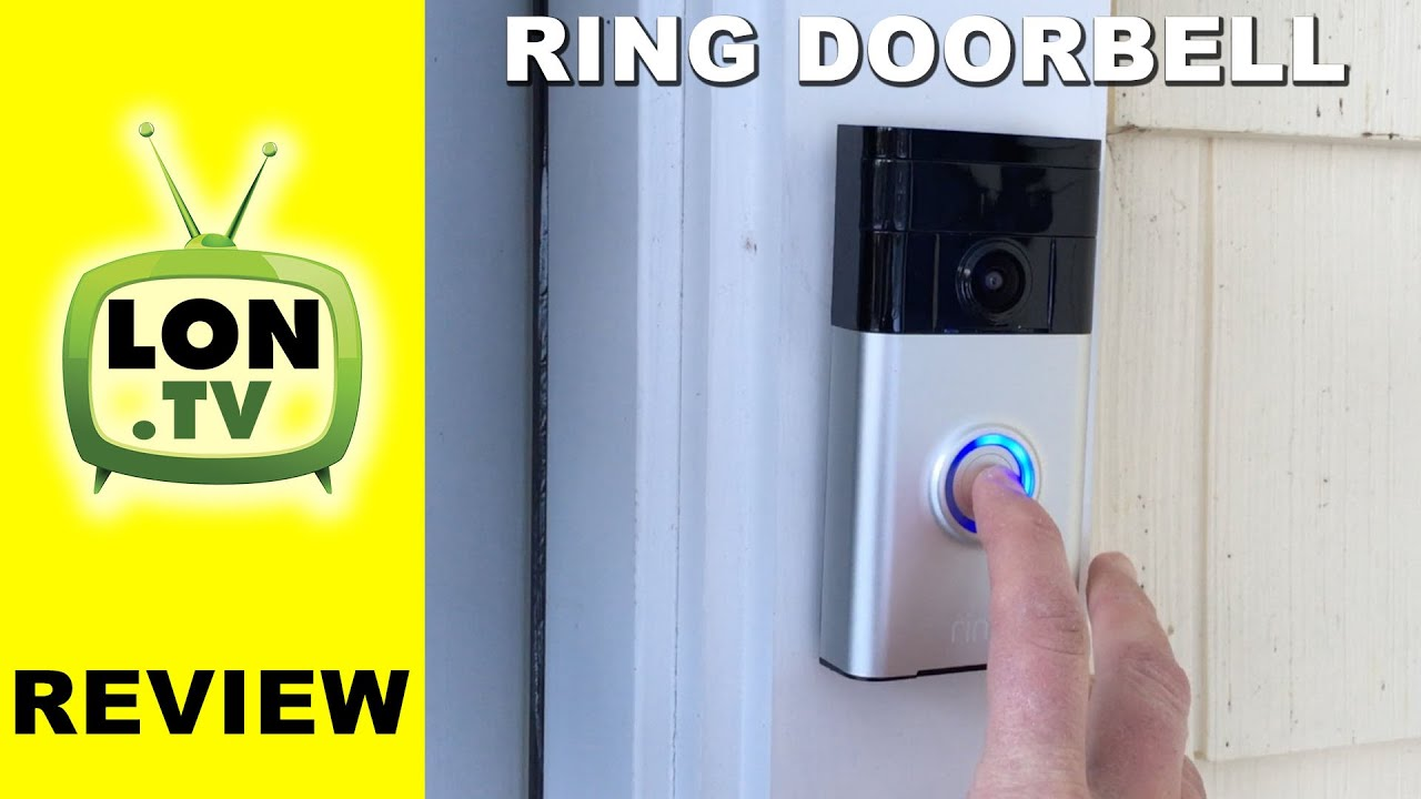 Ring Doorbell Review Wifi Doorbell Camera Security