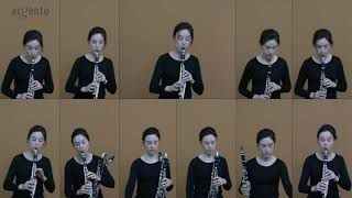 "Steve Reich - ""New York Counterpoint"" Carol McGonnell, clarinets"