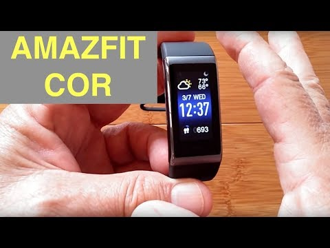 Original Xiaomi Huami Amazfit COR MiDong Smart Bracelet / Smartband: Unboxing & Review