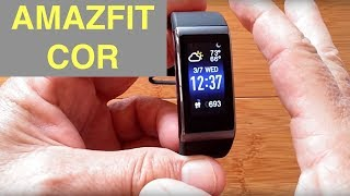original XIAOMI AMAZFIT COR MiDong IP68 Smart Bracelet / Smartband: Unboxing & Review
