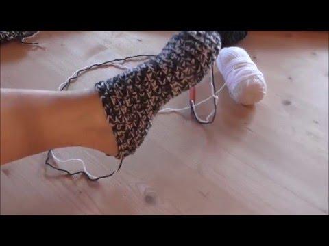 Dicke Socken häkeln, einfachste Anleitung der Welt