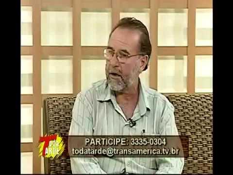 entrevista hospital das fotos no programa transamerica