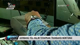Gerbang Tol Halim Terapkan Transaksi Non-Tunai