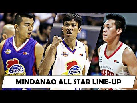 2018 PBA ALL-STAR MINDANAO LINE-UP VS GILAS!  - Digos Leg / Thompson, Barroca, Jalalon etc.